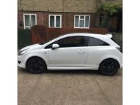 Vauxhall corsa limited edition( white)