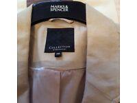 Natural colour Debenhams linen jacket as new