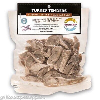 Tender Turkey - Fresh Is Best Freeze Dried Turkey Tender Treats for Dogs and Cats