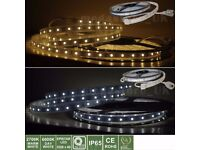 LED Flexible Strip Light,In/Outdoor Waterproof Christmas Decoration Sign Lighting 5mt/roll
