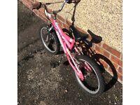 A girls bike