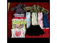 9-12 months girl clothes bundle