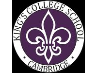 Catering Services Assistant - King's College School, Cambridge