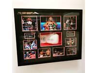 Anthony Joshua Signed Boxing Glove display