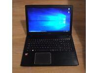 Acer E5-523 15.4 inch | AMD A9 2.9Ghz | 8GB RAM | 120GB SSD & 1TB HDD