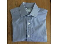 4 new shirts with double cuff (cufflinks)