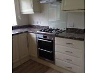 Kitchen units work tops splash backs hob sink taps glass splash back. Buyer to dismantle