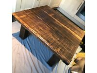 Handmade reclaimed coffee table - brand new and stunning!