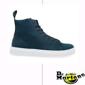 RRP 109.99 £ DR MARTENS Indigo Talib Leather Top Trainers Size 11 eur 46