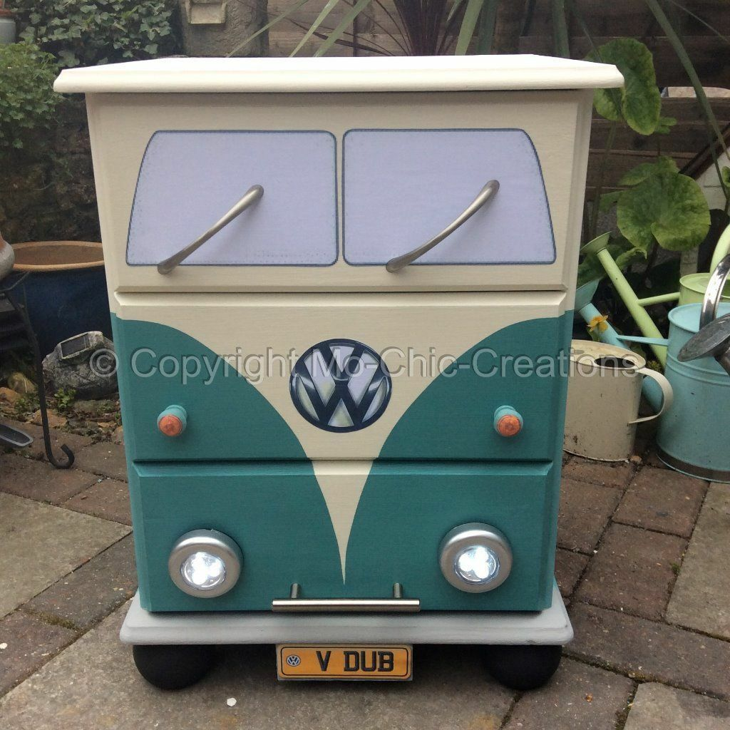 Vintage retro vw camper van pine Buy, sale and trade ads