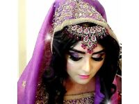 Asian Bridal hair and makeup artist. Available for Parties/Proms. Fully Qualified. Birmingham.