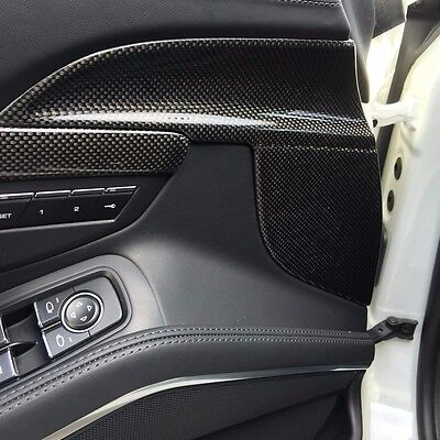 PORSCHE 991 911 CARRERA 4S GTS TURBO S CARBON FIBER INTERIOR DOOR SPEARS
