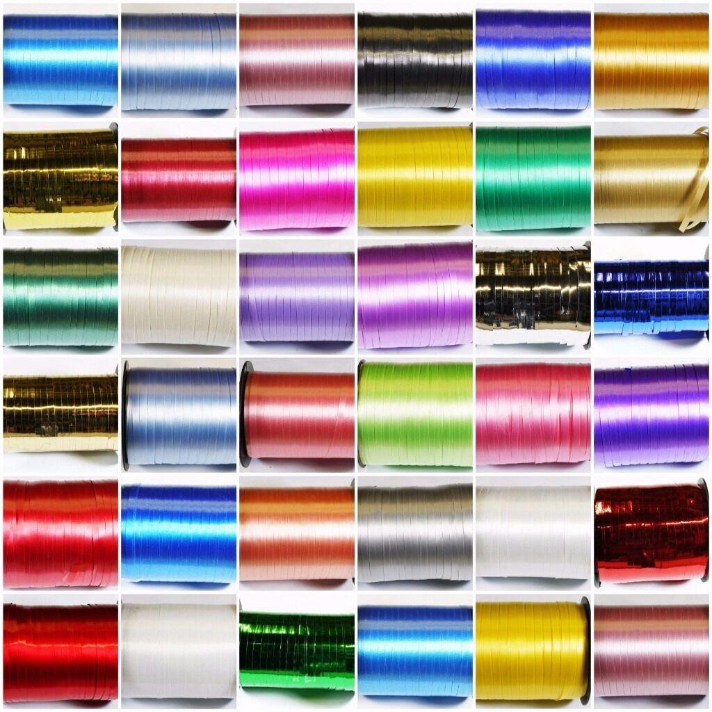 Curling & Florist Ribbon Rolls & More - EX STOCK BULK SALE Ideal for Market/Online Trader
