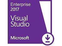 Official Visual Studio 2017 Enterprise - Key