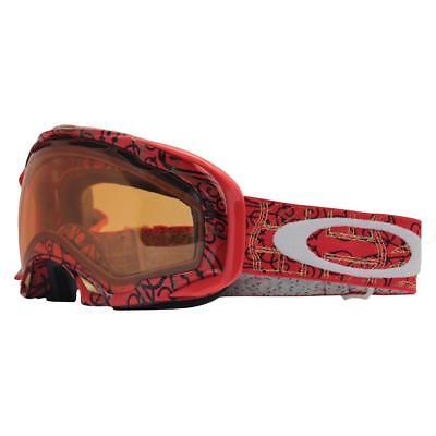 cba7c61bf93 Oakley 01-853 SIMON DUMONT SPLICE Red w  Persimmon Lens Mens Snow Ski  Goggles .