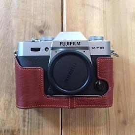 Fujifilm X-T10 Mirrorless Digital Camera w/ 16-50mm Lens, Carry Bag & Accessories! DSLR
