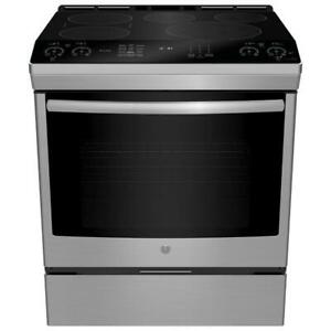 30 Electric convection range, stainless, GE