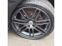 "Audi sline alloys 19"" black"