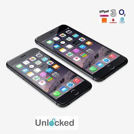 Unlocked Apple iPhone 6 Mobile Phone - Black - 64GB