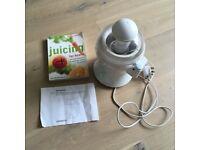 Kenwood JE350 Juice Extractor and Juicing Book