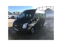 Ford Transit 9-seater with caged boot