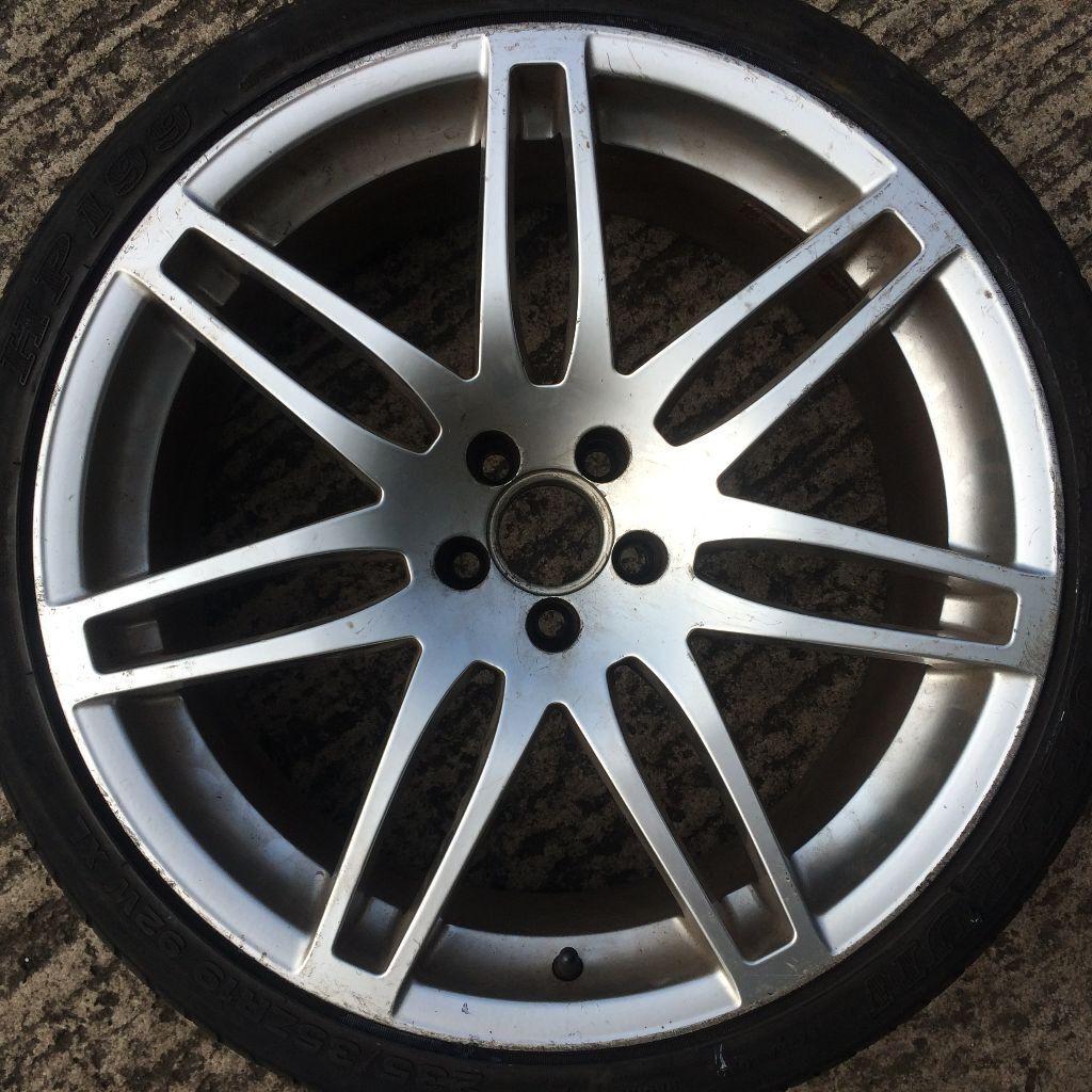 19 Inch Rs4 Alloy Wheels Tyres Volkswagen Golf Mk4 Beetle