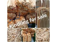 fire starter kindling wood nail free dry new joiners wood offcuts 4 bags for £10