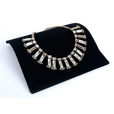 Elegant Velvet Jewelry Display Tray Shop Display Necklace Bracelet Display