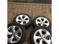 BMW winter tyres and alloys