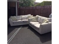 3-seater and 2-seater sofas