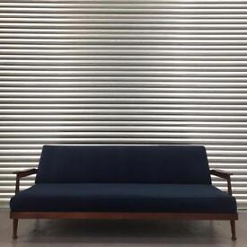 Retro Mid Century Guy Rodgers sofa daybed. Amazing vintage condition.