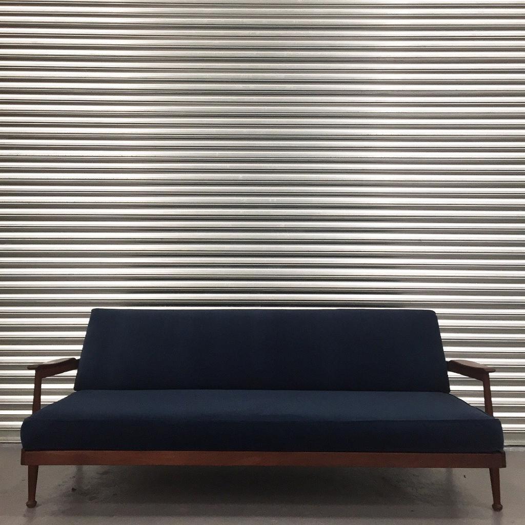 Retro Mid Century Guy Rodgers sofa daybed Amazing vintage