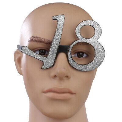 Geburtstag 18th 18 Fancy Party Diamante Glitzer Gläser - Fancy Gläser