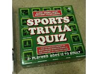 Sports Trivia Quiz Board Game By Mad Moose. 1200 Questions.