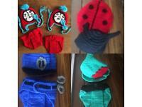 20 crocheted baby costume/prop brand new