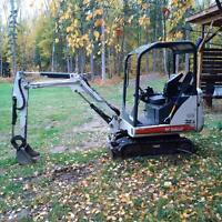 2007 Bobcat 323 mini excavator