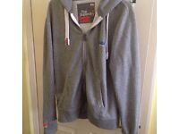Superdry Hooded Top Size XL