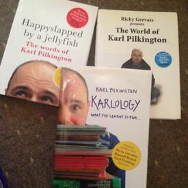 Karl Pilkington books - hardcovers