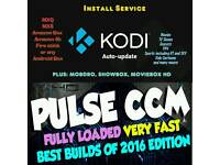Kodi16.1 with PULSE CCM Build Install Service for Amazon Fire stick/4k/Android Box