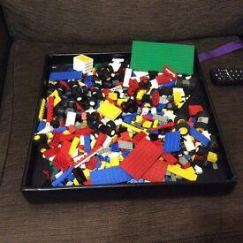Lego approx 1kg of random bricks