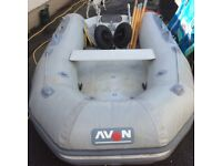 Avon 2.8 inflatable and engine