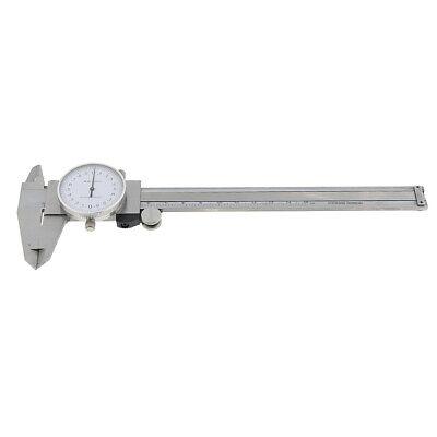 Professional Stainless Steel Dial Vernier Caliper Depth Gauge Metric 150mm