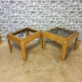 2x Vintage Coffee Tables
