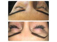 £35 *MOBILE* semi permanent eyelash extensions