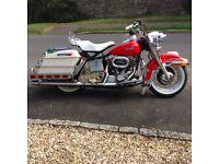Vintage Harley Davidson - 1977 Electraglide