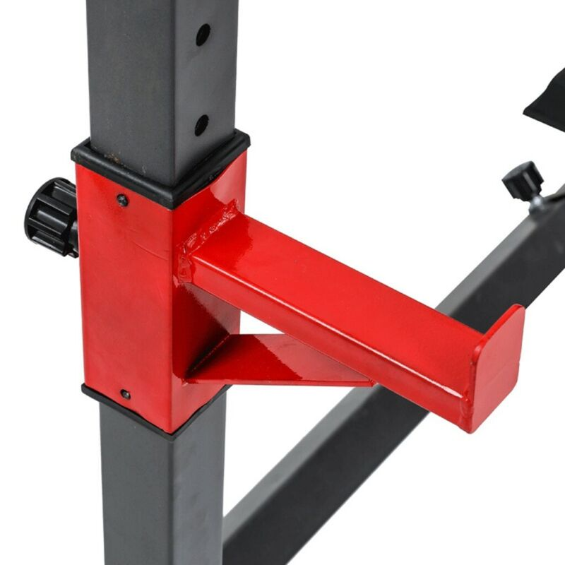 Fully Adjustable SQUAT Stands Weight Training Bench