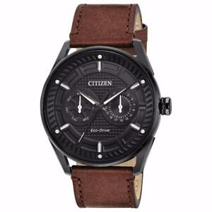 Citizen BU4025-08E Mens Eco-Drive Watch CTO Leather band