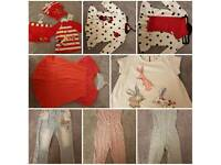 Large girls clothing bundle, Next etc. More than in main pic! Some BNWT!