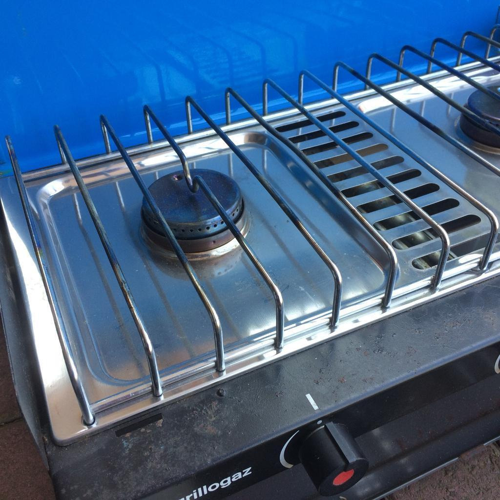 Camping Gaz Double Burner Super Grillogaz stove cooker   in ...