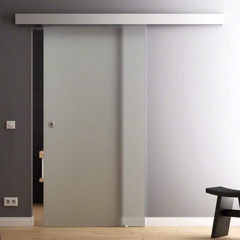 satinierte glasschiebet r g nstig online kaufen bei ebay. Black Bedroom Furniture Sets. Home Design Ideas